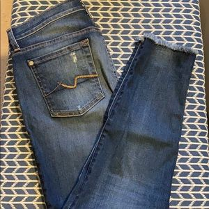 7 For All Mankind Jeans - Skinny jeans, size 29